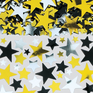 Hollywood Metallic Star Confetti