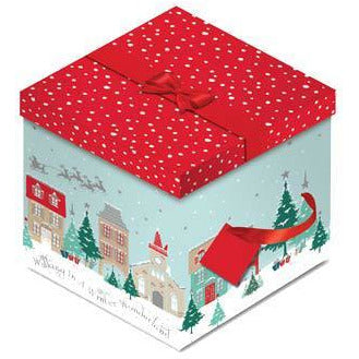 Winter Wonderland Christmas Gift Box