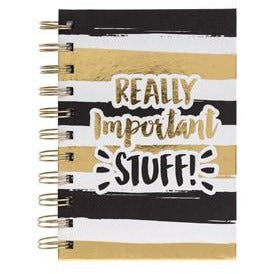 Really Important Stuff Notebook