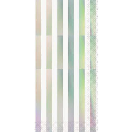 Iridescent Stripes Lunch Napkins
