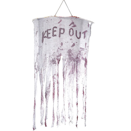 Keep Out Bloody Decoration