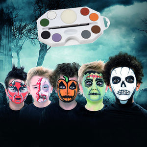 Kids Halloween Character Make Up Kit
