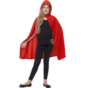 Red Hooded Cape - mypartymonsterstore