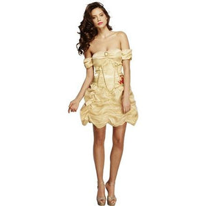 Fever Golden Princess Costume - mypartymonsterstore