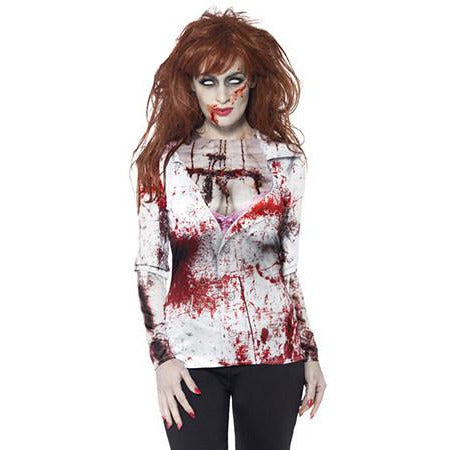 Zombie Female T Shirt