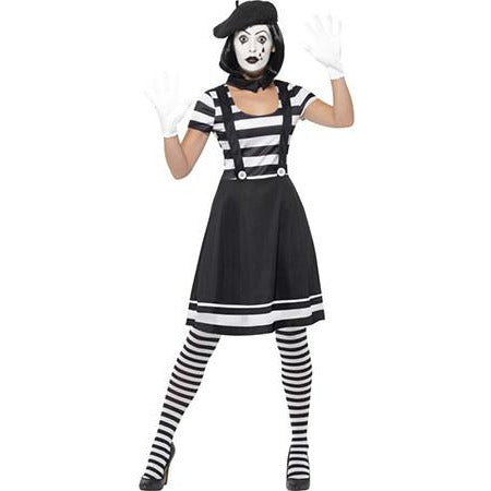 Lady Mime Artist Costume
