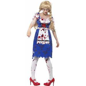 Zombie Bavarian Costume - mypartymonsterstore