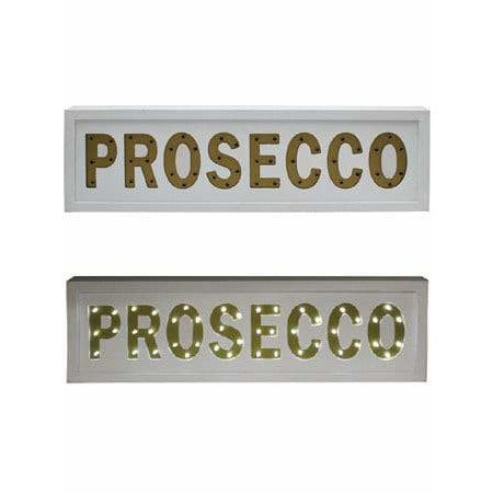 Prosecco LED Light Up Signs