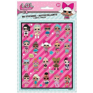 L.O.L Surprise Sticker Sheets