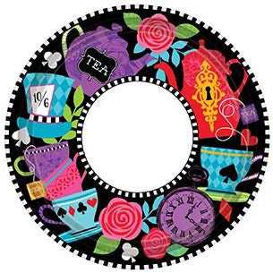 Mad Tea Party Plates 8pk