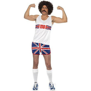 Union Jack Marathon Man Costume