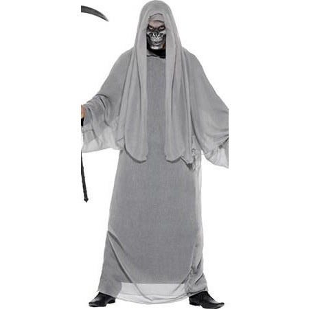 Grey Grim Reaper Costume