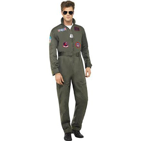 Top Gun Deluxe Male Jumpsuit Costume