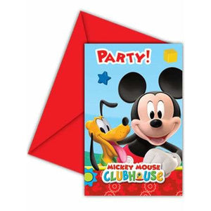 Mickey Mouse Playful Party Invitations