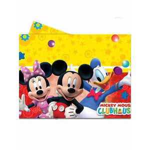 Mickey Mouse Playful Plastic Table Cover