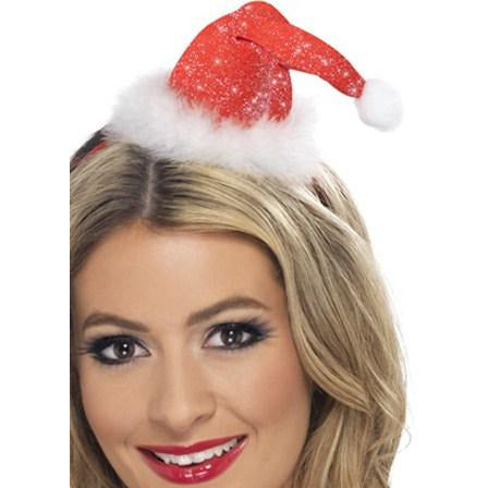 Mini Sparkle Santa Hat