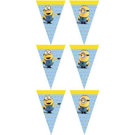 Lovely Minions Flag Banner