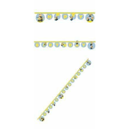 Lovely Minions Birthday Letter Banner