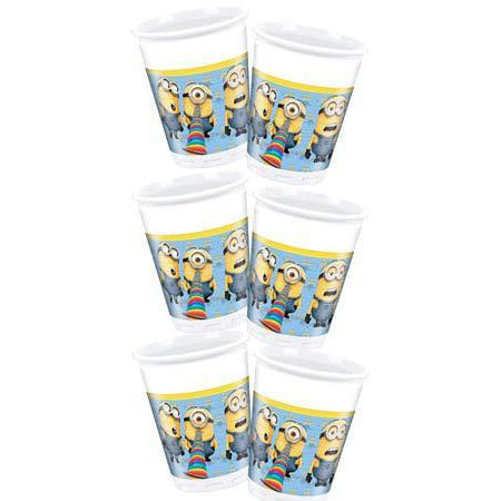 Lovely Minions Plastic Cups