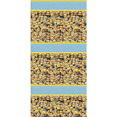Lovely Minions Plastic Tablecover