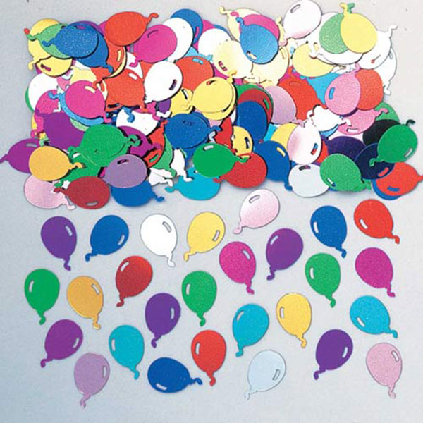 Party Balloons Multi Confetti