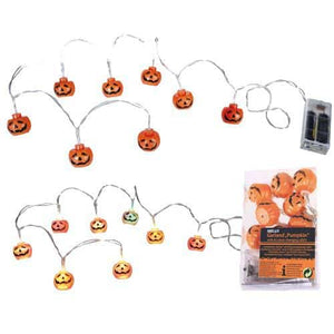 Halloween Pumpkin Light Garland