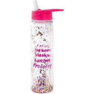 On Your Marks Get Set Prosecco Glitter Cup
