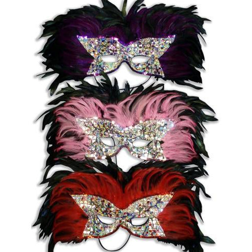 Sequin Eye Masks