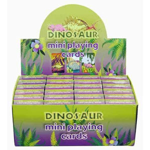 Dinosaur Mini Playing Cards - mypartymonsterstore