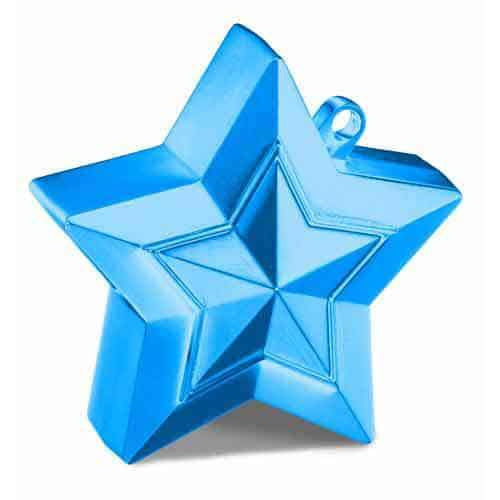 Sapphire Blue Balloon Star Weights