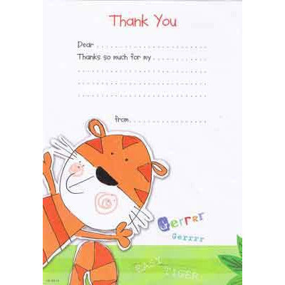 Kids Thank You Hanging Pads x20
