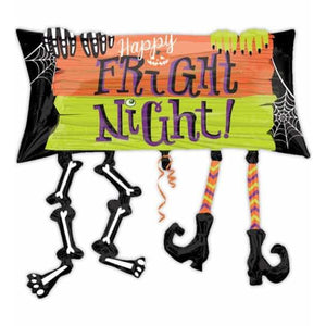 Happy Fright Night Supershape Balloon