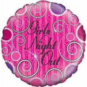 Girls Night Out Foil Balloon