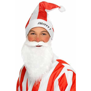 Red And White Striped Sports Santa Set
