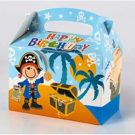 Pirate Happy Birthday Party Boxes