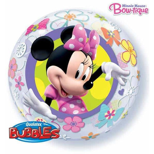 Minnie Mouse Bow Tique Single Bubble