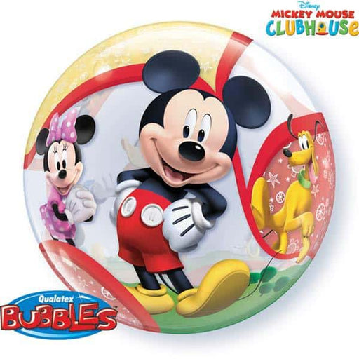 Mickey And His Friends Single Bubble Balloon