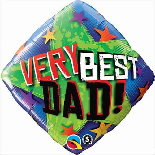 Very Best Dad Starts Foil Balloons