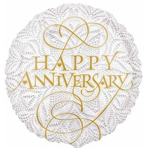Lacey Happy Anniversary Foil Balloon - mypartymonsterstore