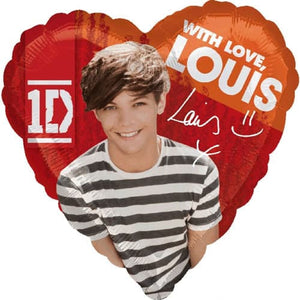 One Direction Louis Balloons