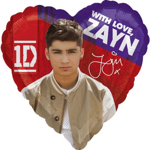 One Direction Zayn Balloons