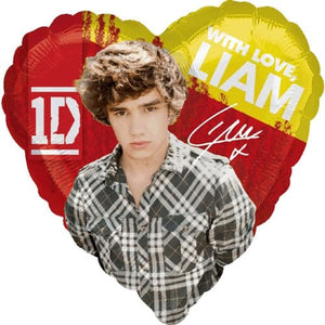 One Direction Liam Balloons