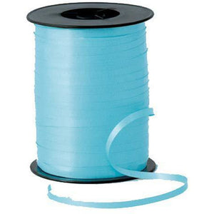 Light Blue Curling Ribbon - mypartymonsterstore