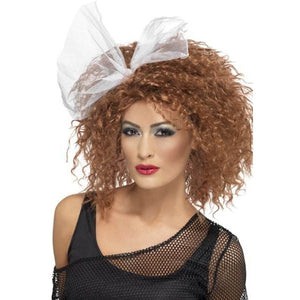 Ladies 80s Brown Wild Child Wig