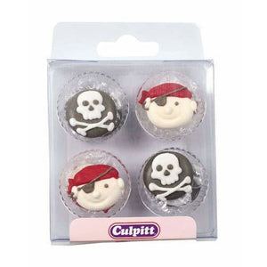 Pirates Sugar Pipings x12 - mypartymonsterstore