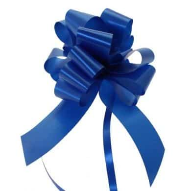 Royal Blue 2 Inch Pull Bows x20