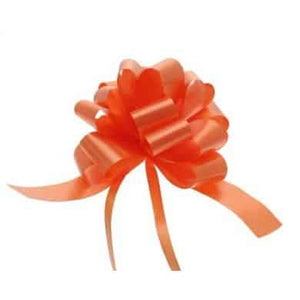 Orange 2 Inch Pull Bows x20 - mypartymonsterstore