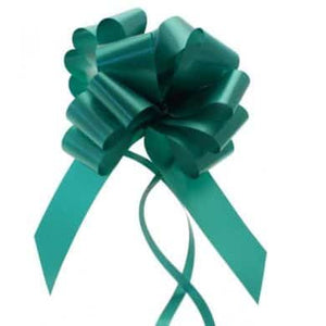 Emerald Green 2 Inch Pull Bows x20 - mypartymonsterstore