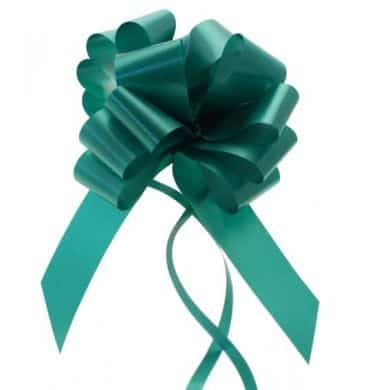 Emerald Green 2 Inch Pull Bows x20