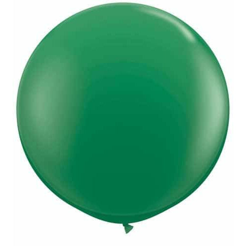 Green Giant Latex Balloons x2